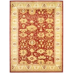 Safavieh Oushak Red/ Gold Powerloomed Rug (8' x 11')