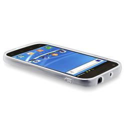 Clear with Trim TPU Skin Case for Samsung Galaxy S II T-Mobile T989 - Thumbnail 2