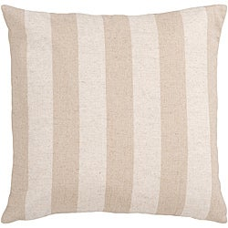 Hammy Pink Striped Polyester Decorative Pillow