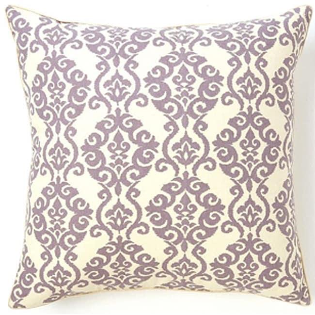 Luminari Lilac Cotton Decorative Pillow