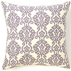 Luminari Lilac Cotton Decorative Pillow