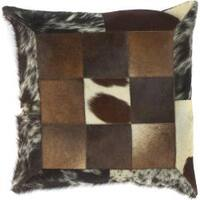 Grafton Faux Fur Feather Down Filled Decorative Pillow