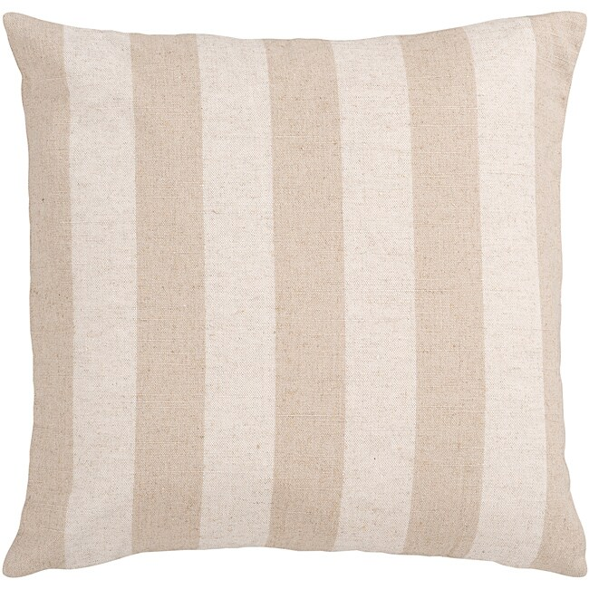 Hammy Pink Striped Decorative Pillow