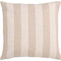 Hammy Pink Striped Decorative Pillow