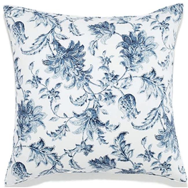 24 x 24-inch Liz Charcoal Outdoor Pillow