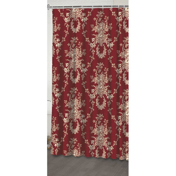 Shop Waverly Country House Shower Curtain Free