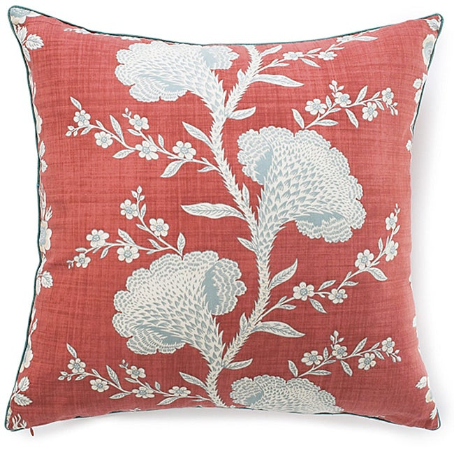 Geisha Rouge Cotton Pillow