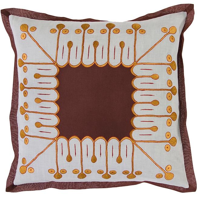 Decorative Bristol Down Filled Throw Pillow