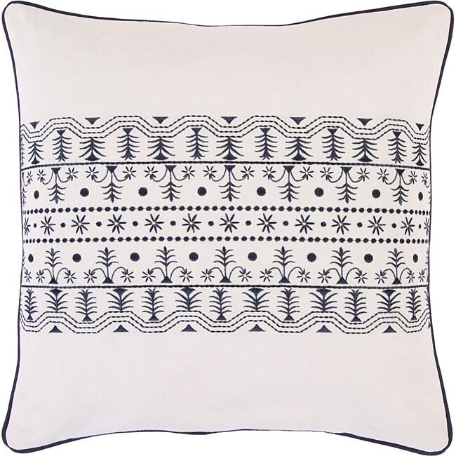 Decorative Canterbury Down Filled Throw Pillow