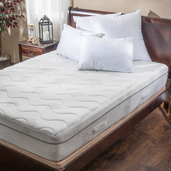 Christopher Knight Home Aloe Gel Memory Foam 11-inch Twin XL-size Smooth Top Mattress