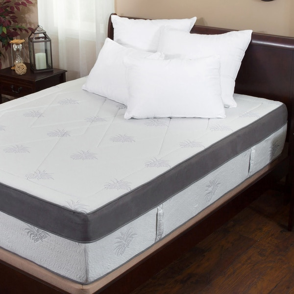 Aloe Gel Infused Memory Foam 15 Inch Queen Size Mattress