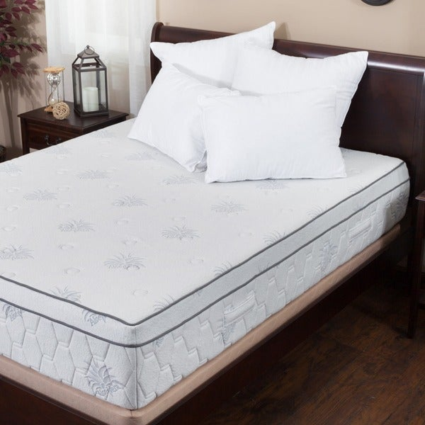 Christopher Knight Home Aloe Gel Memory Foam 13 Inch Queen Size Pillow Top Mattress 14024929