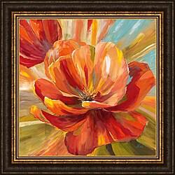 Nan 'Island Blossom II' Framed Print