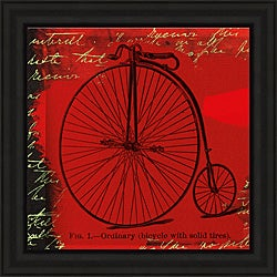Andrew Cotton 'Bicycle II' Framed Print