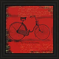 Andrew Cotton 'Bicycle I' Framed Print