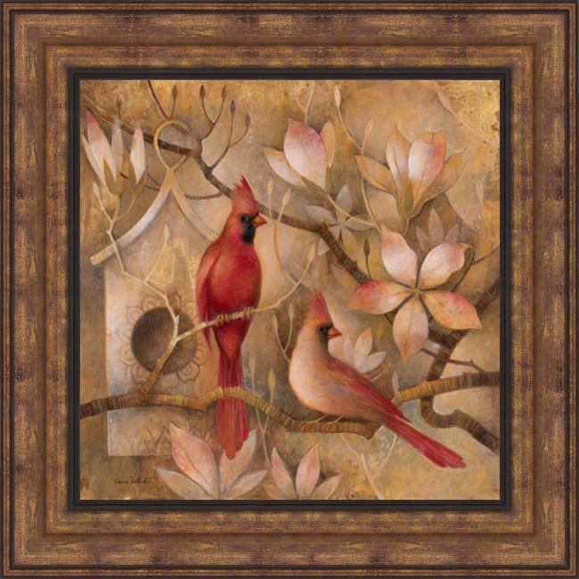 Elaine Vollherbst-Lane 'Elegance in Red I' Framed Print