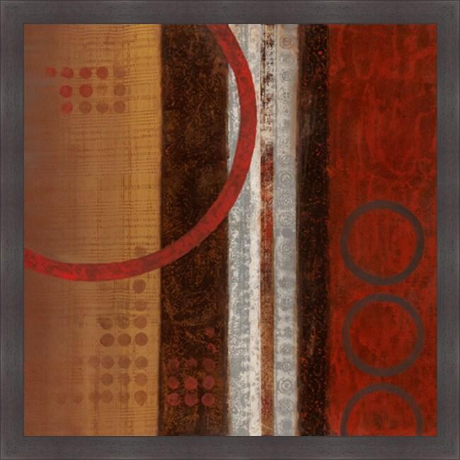 Nan 'Spice Market I' Framed Print