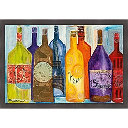 Alexandria Tava 'Vive La Bourgogne' Framed Print
