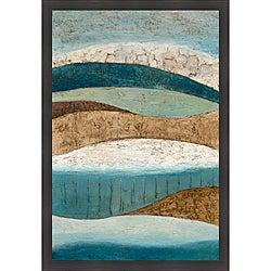 Norm Olson 'Earth & Sky I' Framed Print