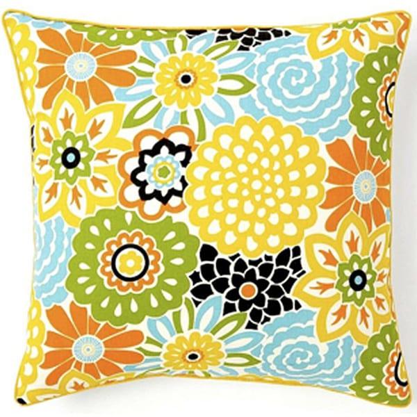 Handmade Bloom Confetti Decorative Pillow