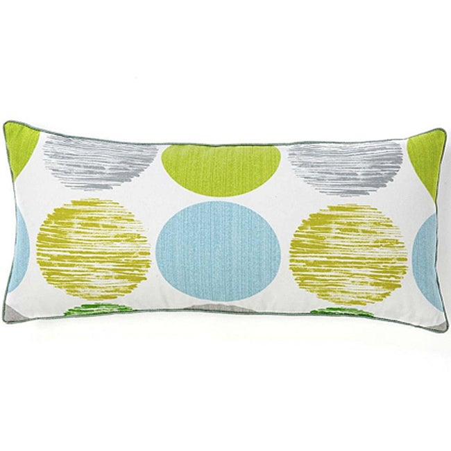 Big Spot Marine Rectangle Decorative Cotton Pillow - Thumbnail 0