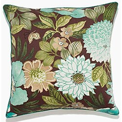 Jolene Brown Outdoor Pillow