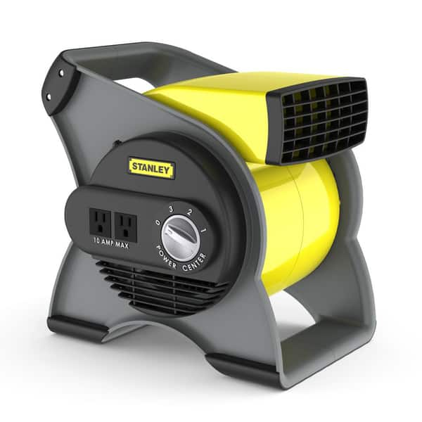 Shop Stanley 655704 Pivoting Utility Fan Overstock 6418333