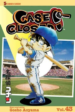 Case Closed 43: Shonen Sunday Edition (Paperback)