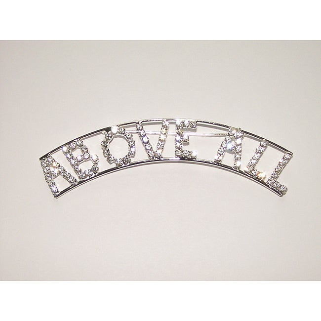 Detti Originals Air Force 'ABOVE ALL' Crystal Pin