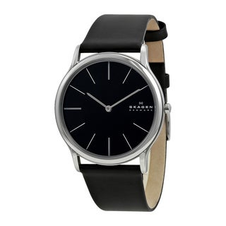 Skagen Denmark Super Slim Black Men's Watch