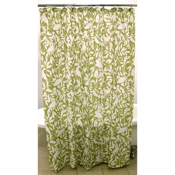 Birdsong Shower Curtain