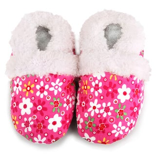 Pink Flower Soft Sole Baby Shoes (3 options available)