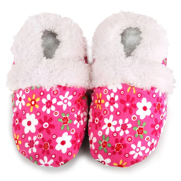 Pink Flower Soft Sole Baby Shoes
