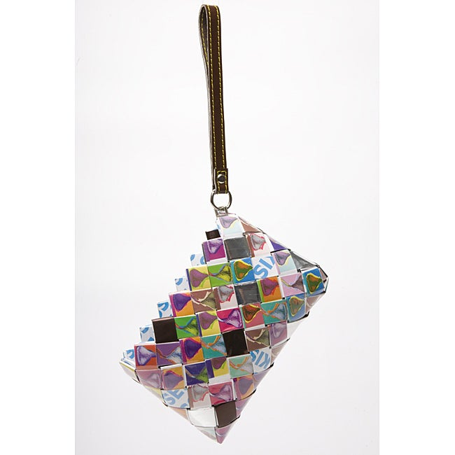 Baby Cakes Hershey's Kisses Wrappers Recycled Handmade Clutch