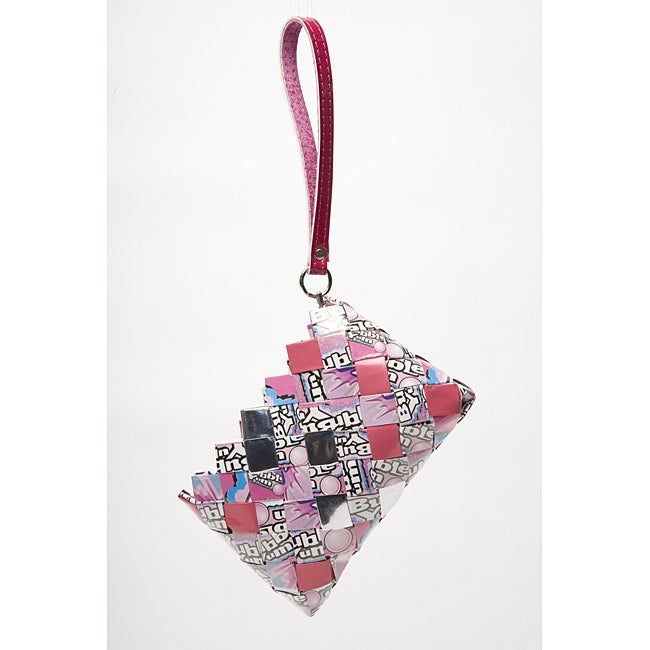 Baby Cakes Bubble Yum Recycled Handmade Clutch