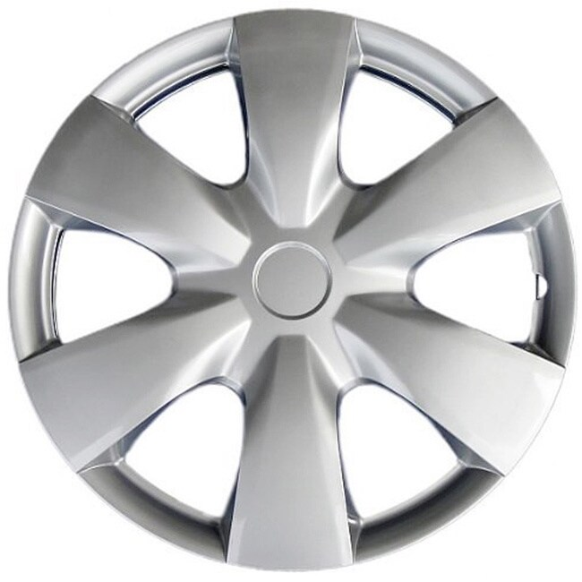 Aftermarket Design KT100815S_L ABS Silver 15-inch Hub Cap...