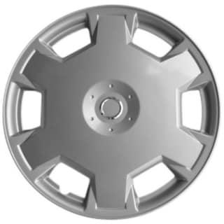 15-inch Silver Premium Hub Caps (Pack of 4)
