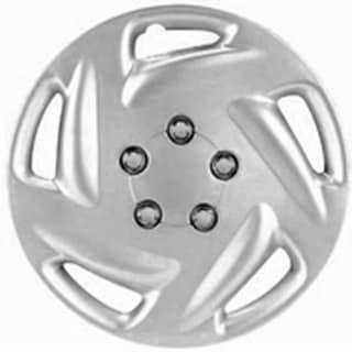 Design Silver ABS 15-Inch Hub Caps (Set of 4)