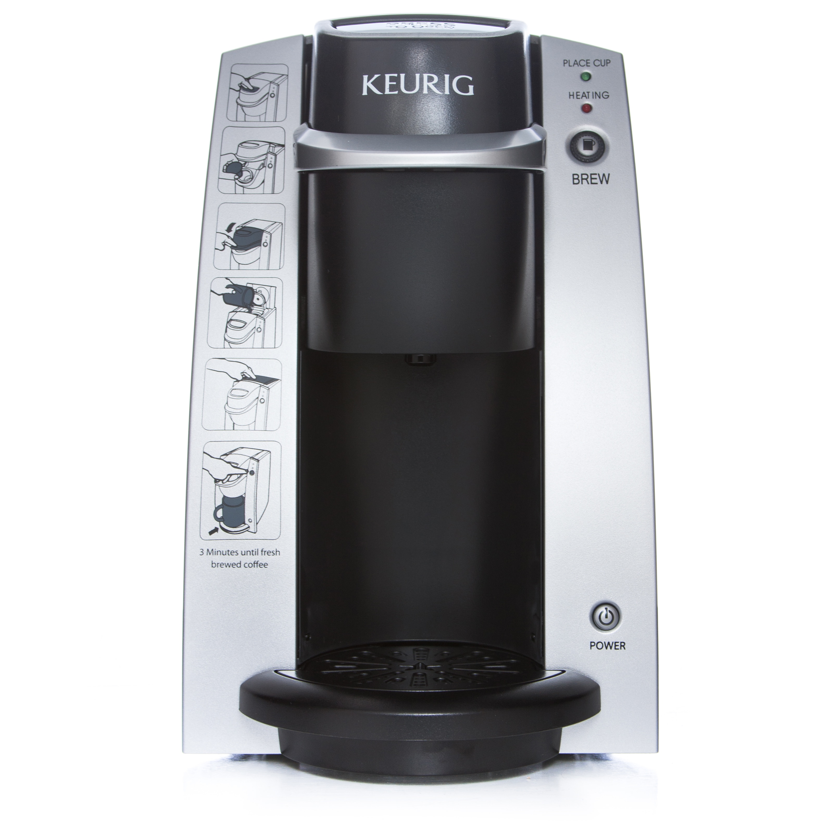 KEURIG K130 DeskPro Coffee Maker (Coffee Maker Only), Sil...