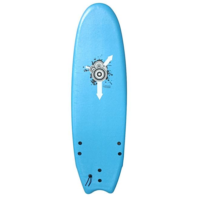 Atom Blue 6-foot Soft Top Surfboard