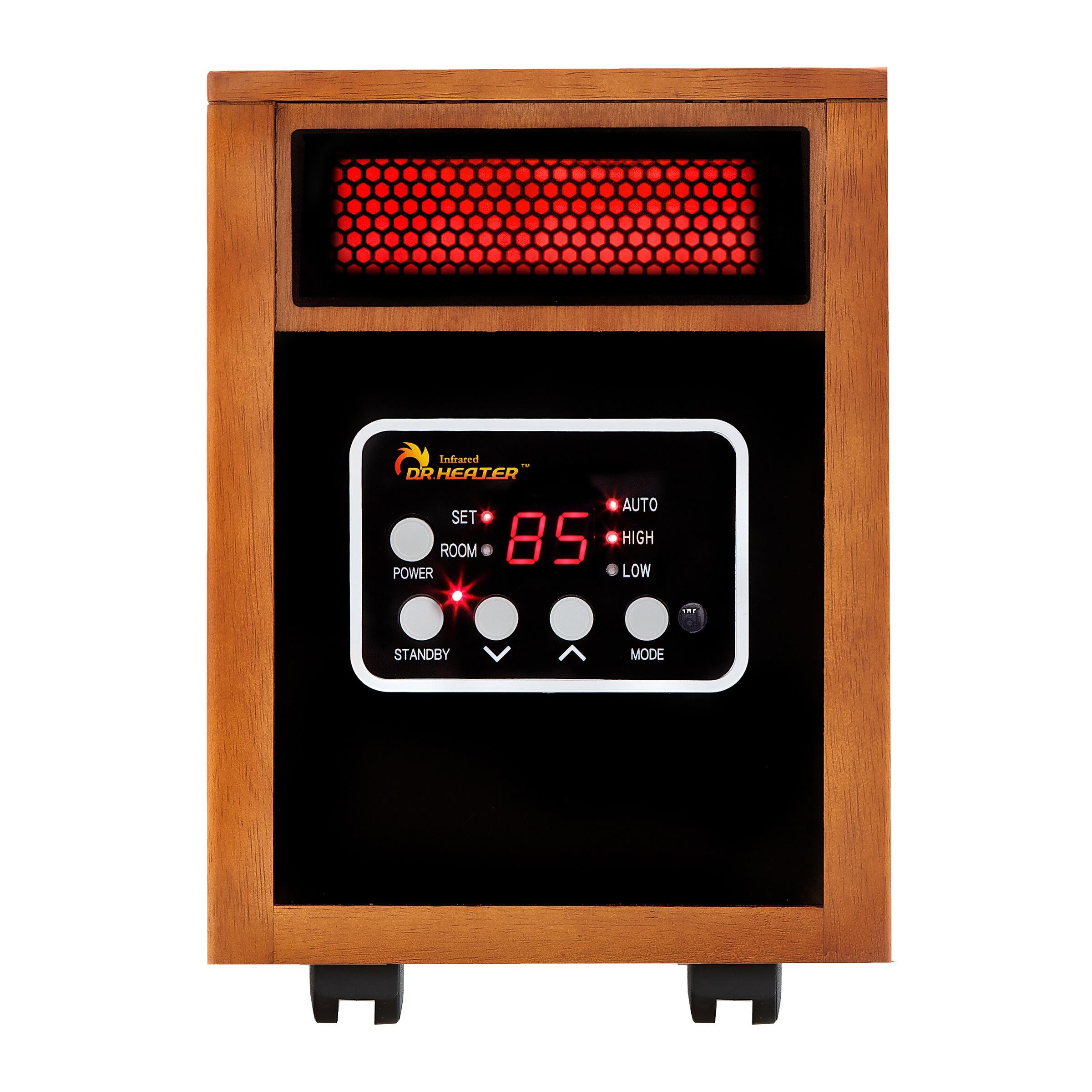 USA Dr Infrared Heater 1500W Dual System Portable Quartz ...