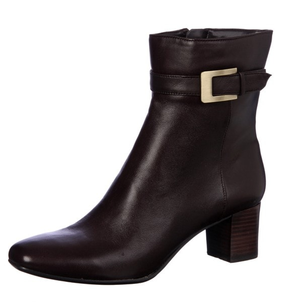 Bandolino Women's Brown 'District' Ankle Booties