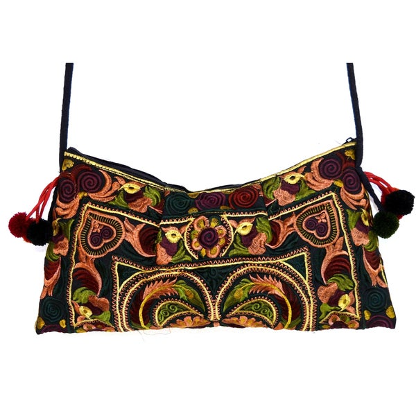 Cotton Leyla 'Mocha' Purse