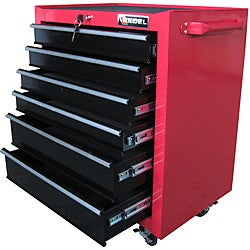 Excel 26-inch Red Roller Tool Cabinet