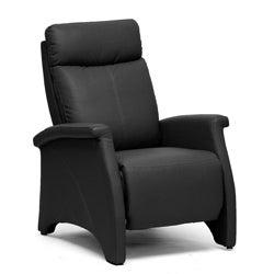 'Sequim' Black Reclining Club Chair
