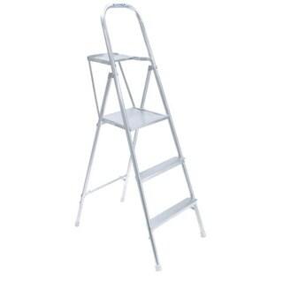 Wermer 60-inch Aluminum Platform Ladder