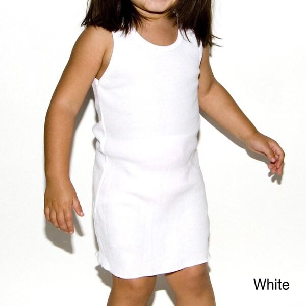 American Apparel Kids' Rib Racerback Dress