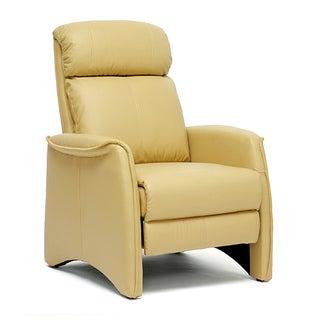 'Aberfeld' Tan Reclining Club Chair
