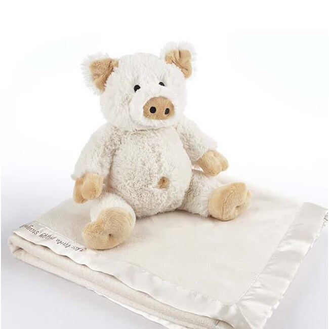 Baby Aspen 'Pig in a Blanket' 2-Piece Gift Set - Thumbnail 0