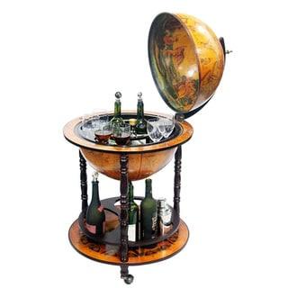 16th Century Italian-style 20-Inch Globe Bar